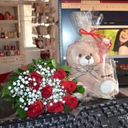 Buquê 24 Rosas Festa