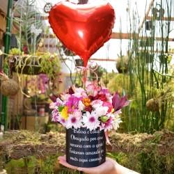 Ramalhete 12 Rosas Nacionais Vermelhas