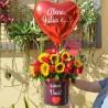 Ramalhete 9 Rosas