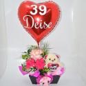 Cesta 24 Rosas Love